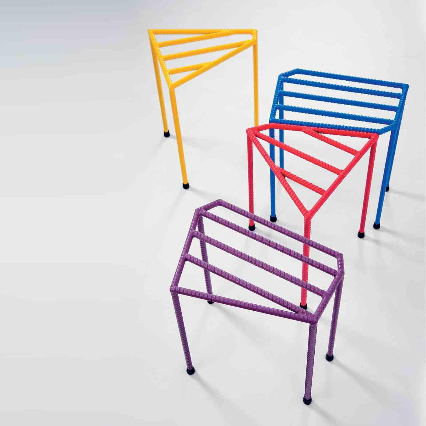 STEEL BAR COMBINATION STOOL
